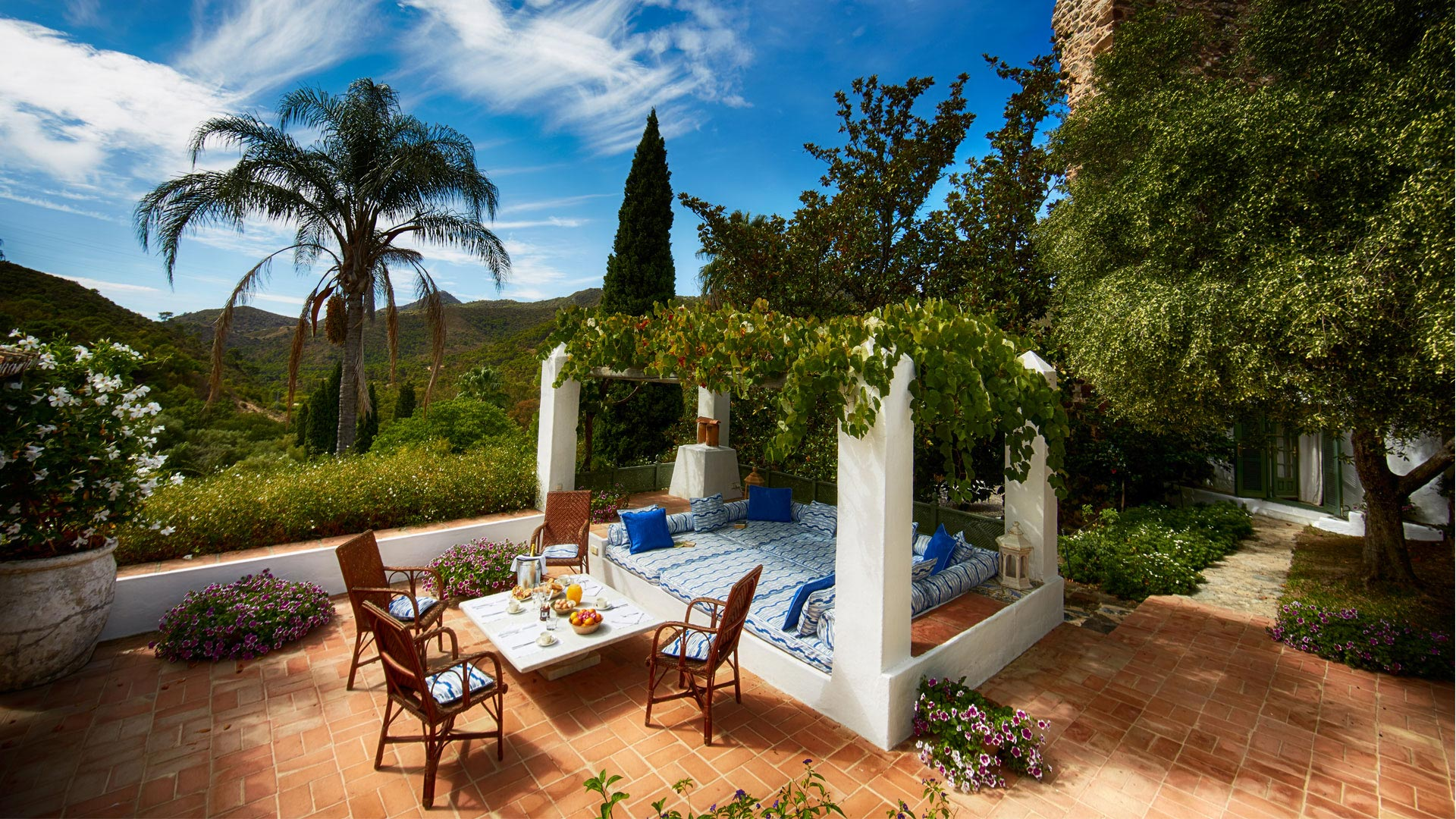 and serene private estate in southern spain